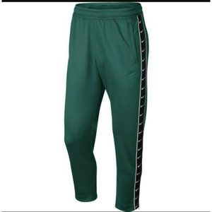 Nike Tapered Training Pants Joggers Green Large